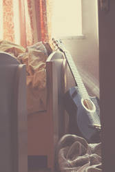 when music sleeps by AidaBabayeva