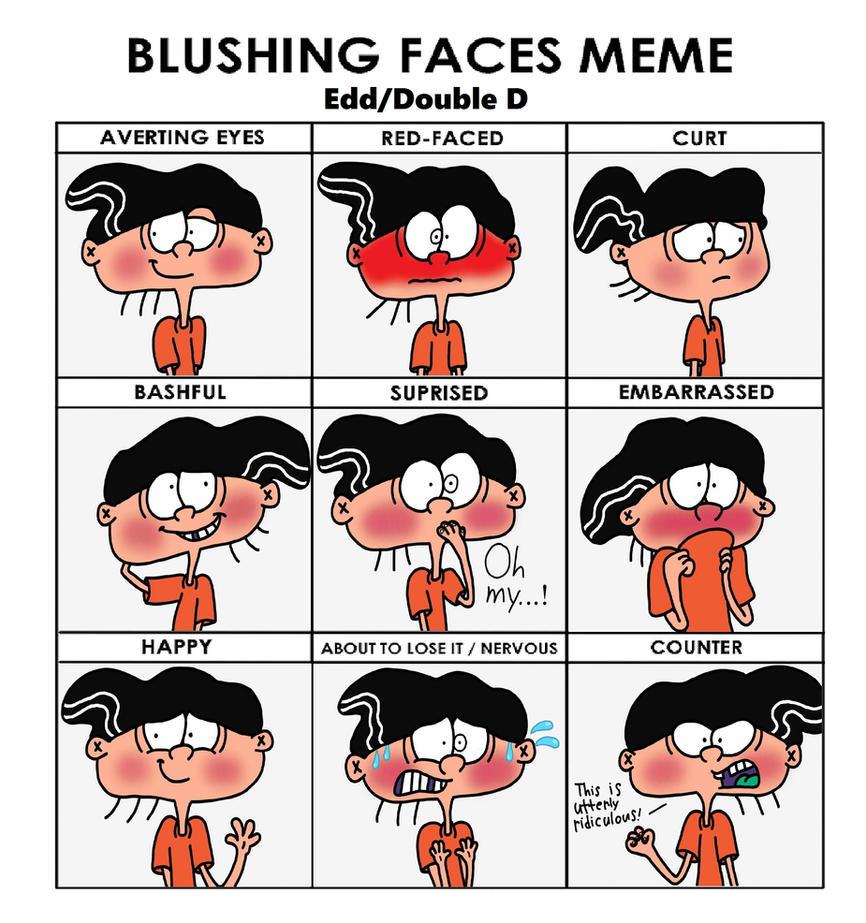 edd_double_d_blushing_faces_meme_by_4swords4ever dag5qe2 edd double d blushing faces meme by 4swords4ever on deviantart