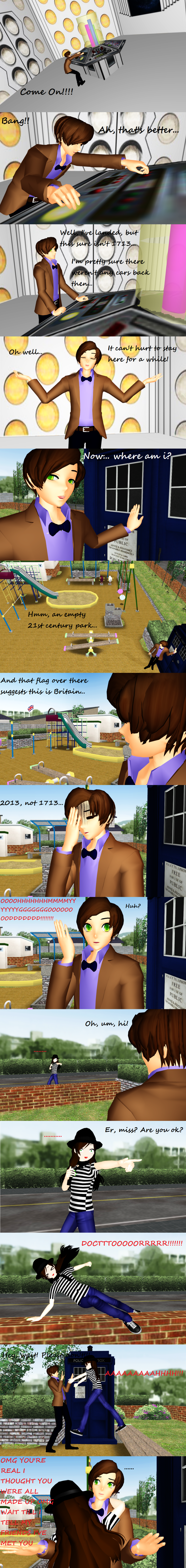MMD/Dr Who- If I ever meet the Doctor... by ChestNutScoop
