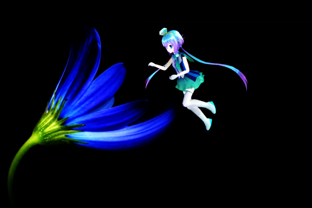 Mmd aoki lapis crazy wip model test