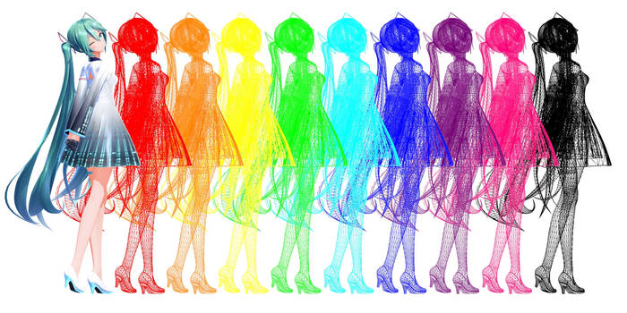 !PATCHUPDATE! MMD/MME WireFrame_spectrum Effect DL