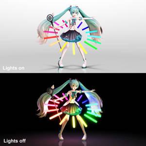 [:Glow Series:] MMD Magical Mirai Ring Download
