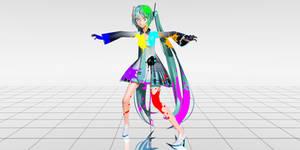 MMD Ink_spectrum Effect + Download