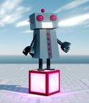 MMD Eared Robot Model + Download