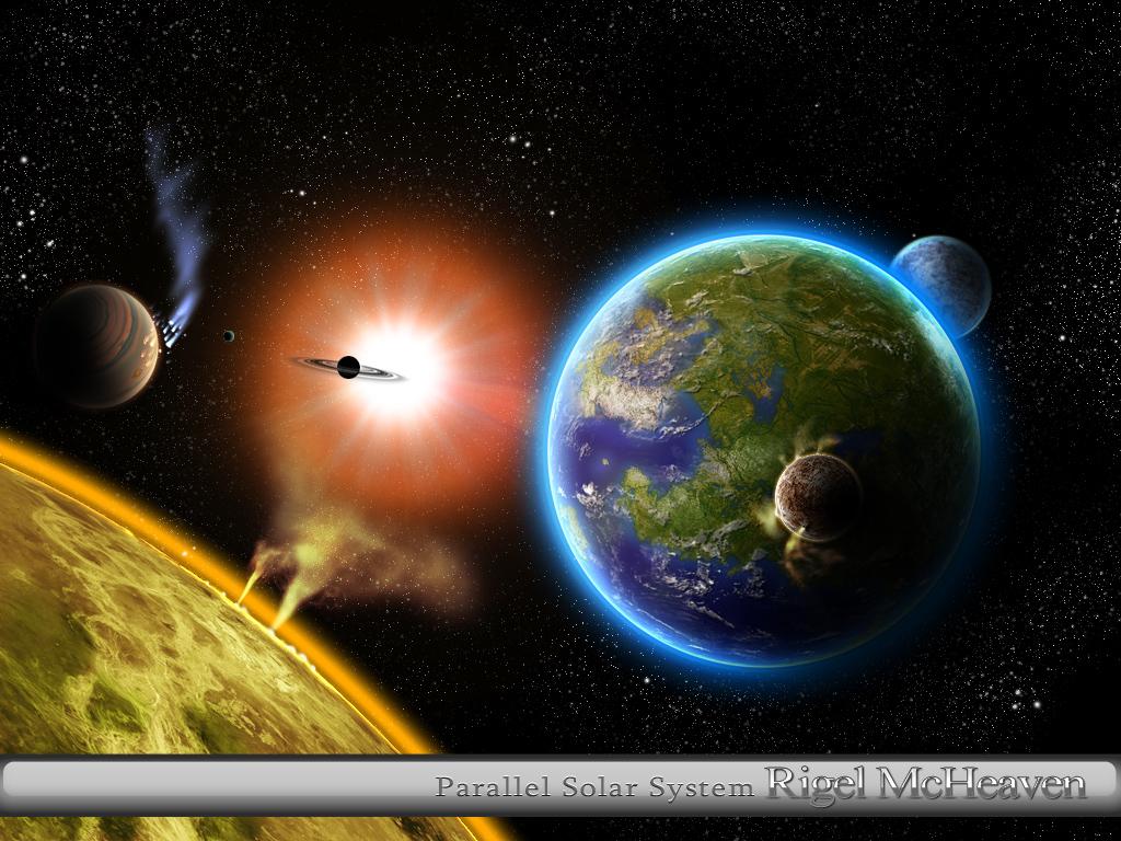 Parallel Solar System by Rigel-McHeaven on deviantART