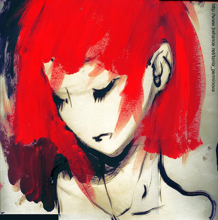 red by hochuliya
