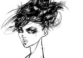 girl by hochuliya