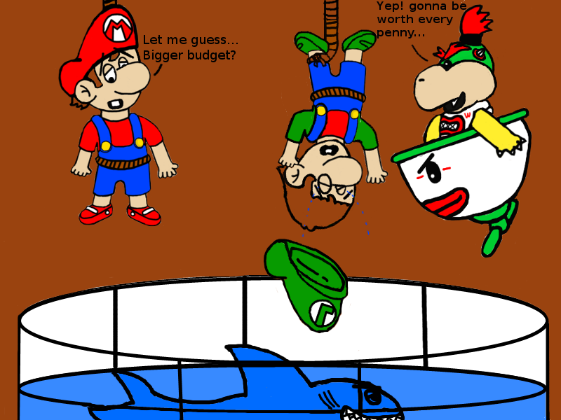 Bad Baby Mario Situations 18 By Dribbleondo On Deviantart