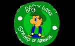 Baby Luigi Stamp Of Approval by dribbleondo