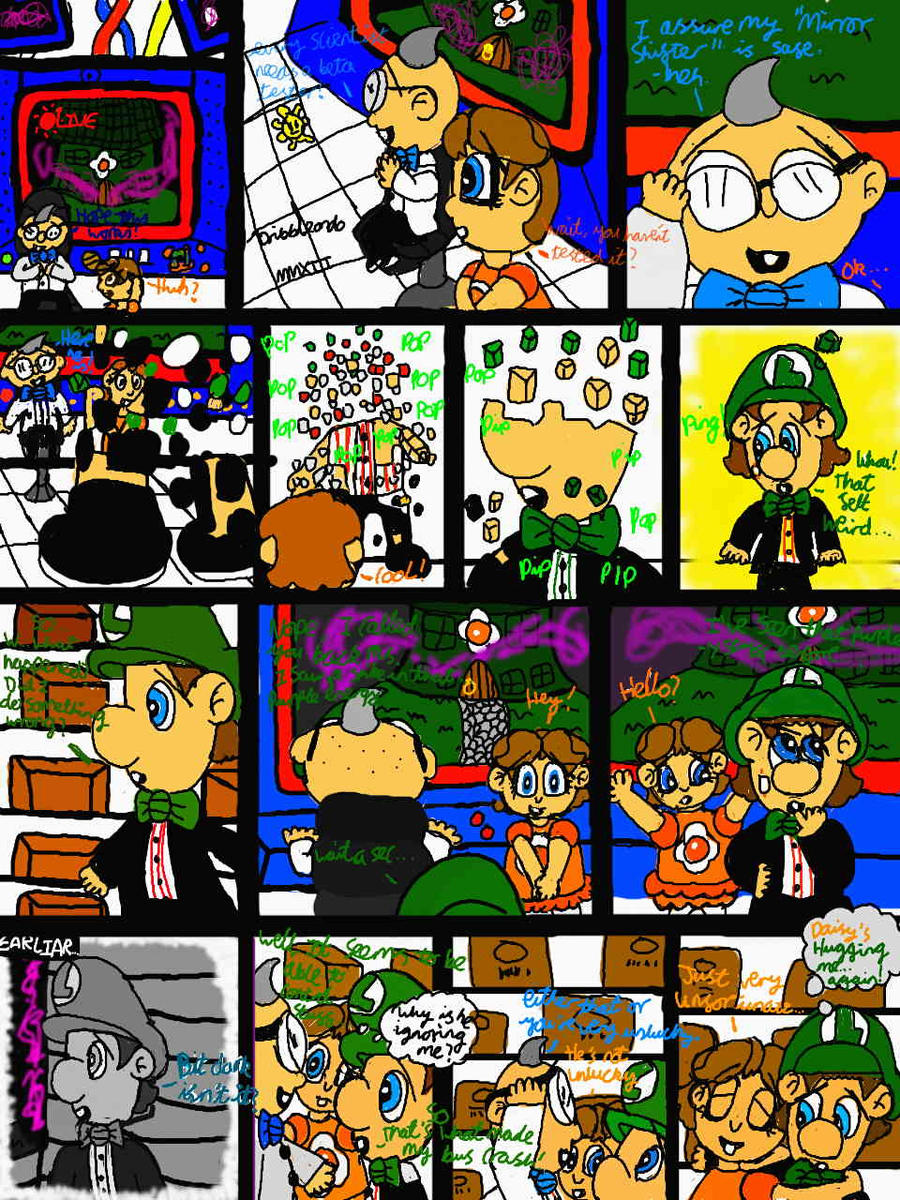 baby luigi u0026 39 s mansion episode 19 by dribbleondo on deviantart