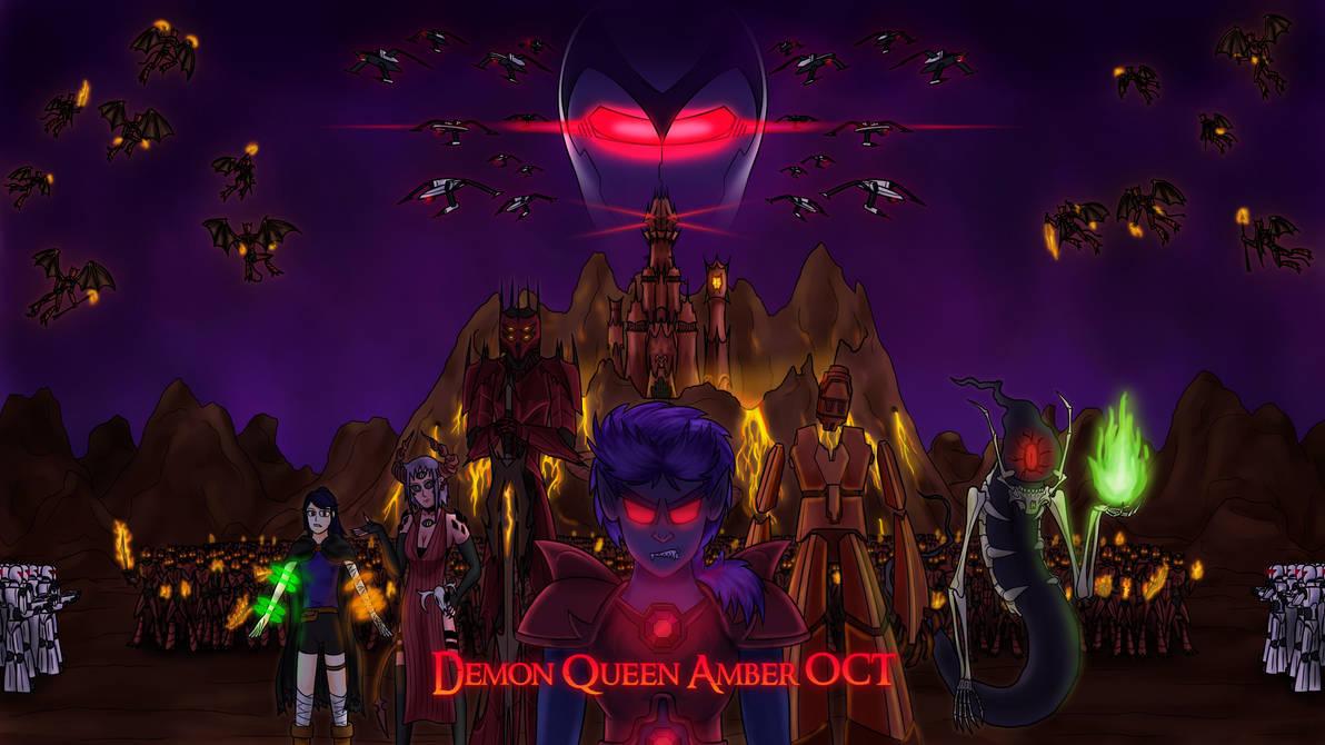 Demon Queen Amber OCT Poster