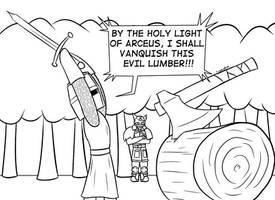 PKMNskies - Holy granddaughter lumber work