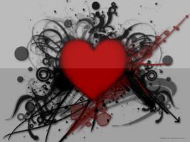 Heart Wallpaper by 666bain-dev