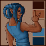 Color Palette Challenge 1 - Enra by Project-Drow