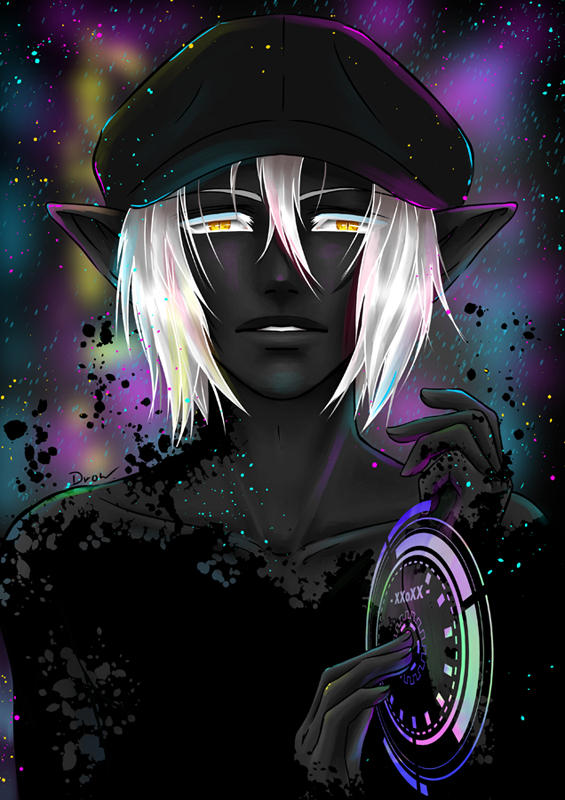 Portrait of Drow 2073