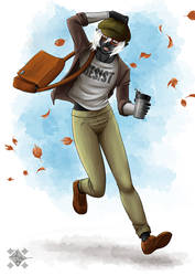 Hipster- / College-Drow (AU)