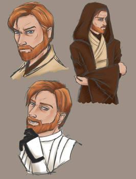 Obi-Wan Kenobi Sketches