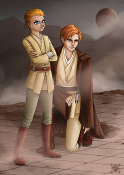 Obi-Wan + Anakin