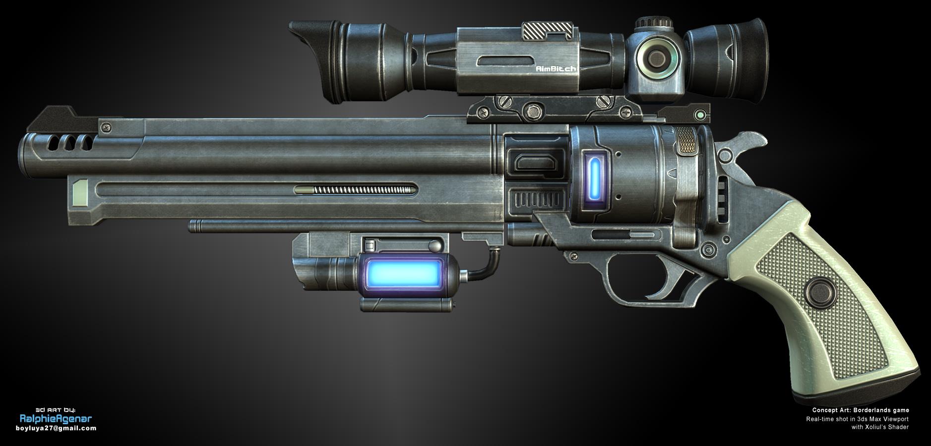 FPS_Revolver01 by boyluya