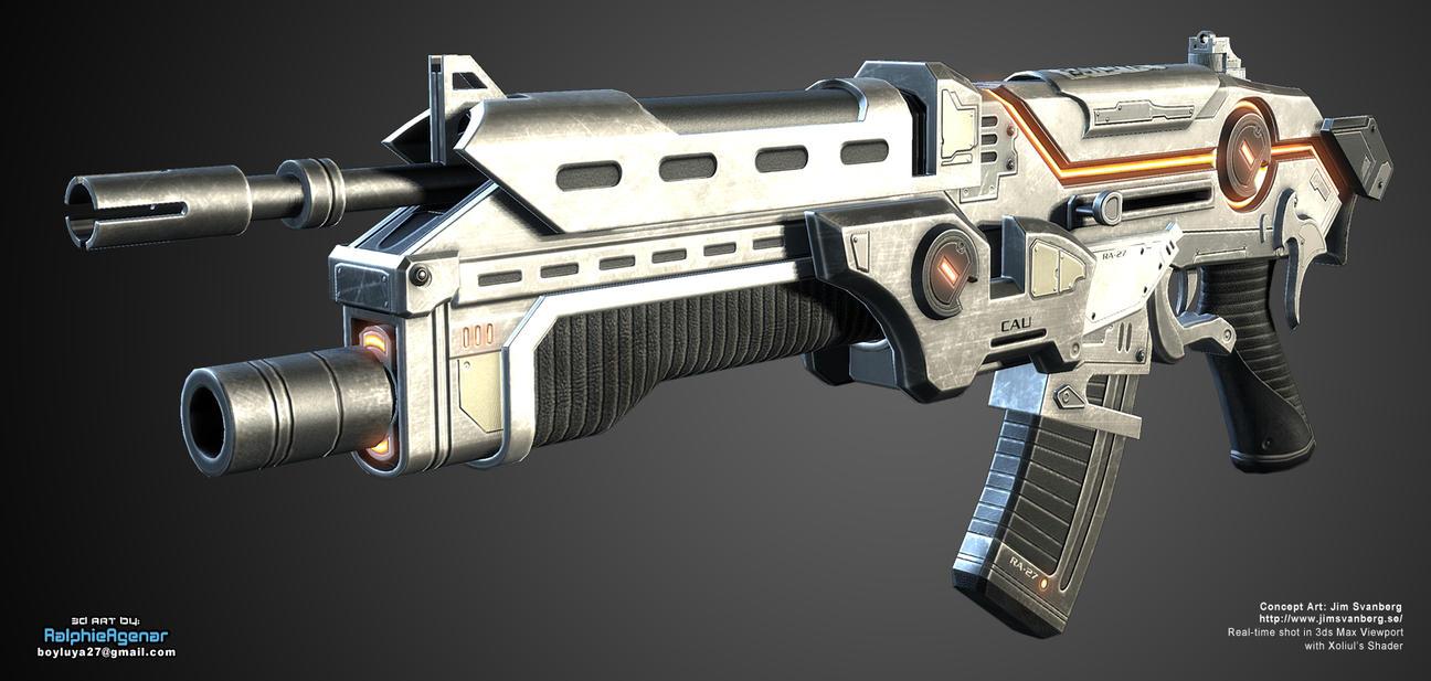 FPS_Rifle04 by boyluya