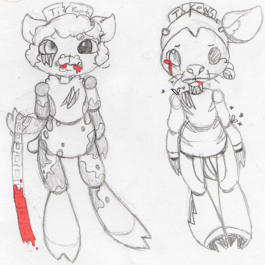 Fnaf Ocs Sketch By Imaginary-Prince On DeviantArt