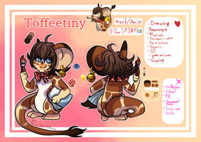 [TFM Mouse] Toffeetiny Handrawn Ref Sheet 2018
