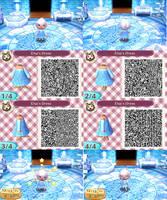 Animal Crossing: New Leaf QR - Elsa by anj6193