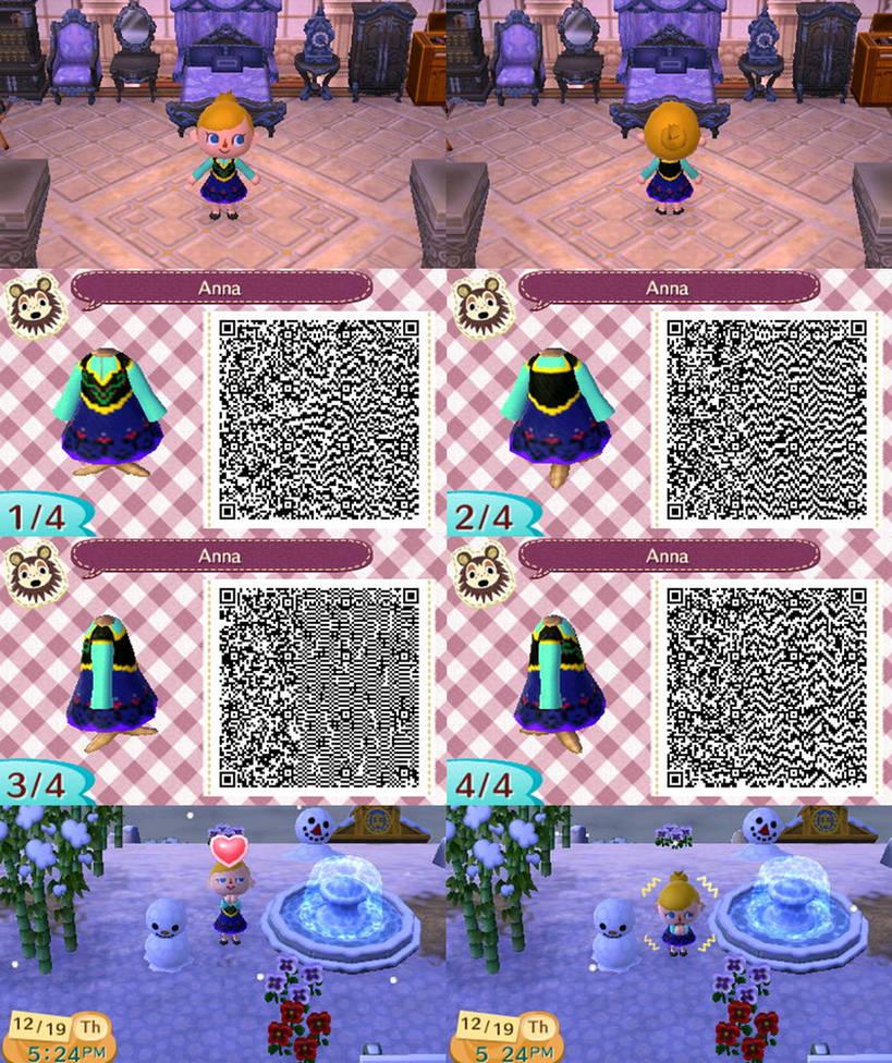 Animal Crossing New Leaf Qr Anna By Anj6193 On Deviantart