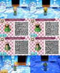 AC: NL QR Design - Anna, Princess of Arandelle by anj6193