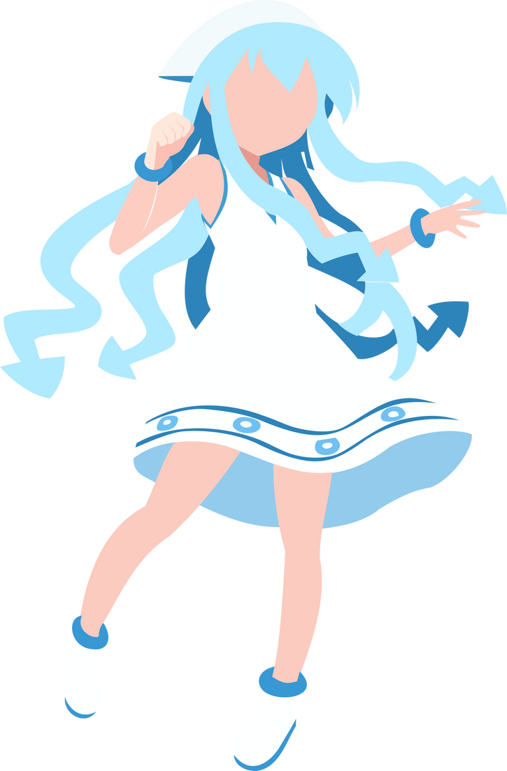 Squid Girl Summer Edition by halotroid09
