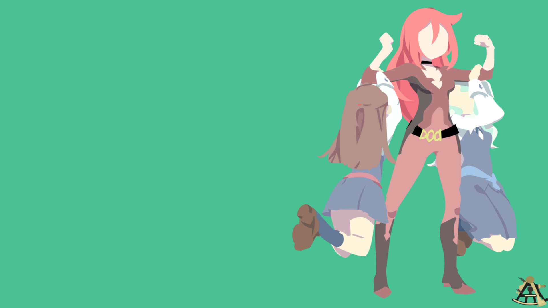Little Witch Academia Wallpaper By Halotroid09 On Deviantart
