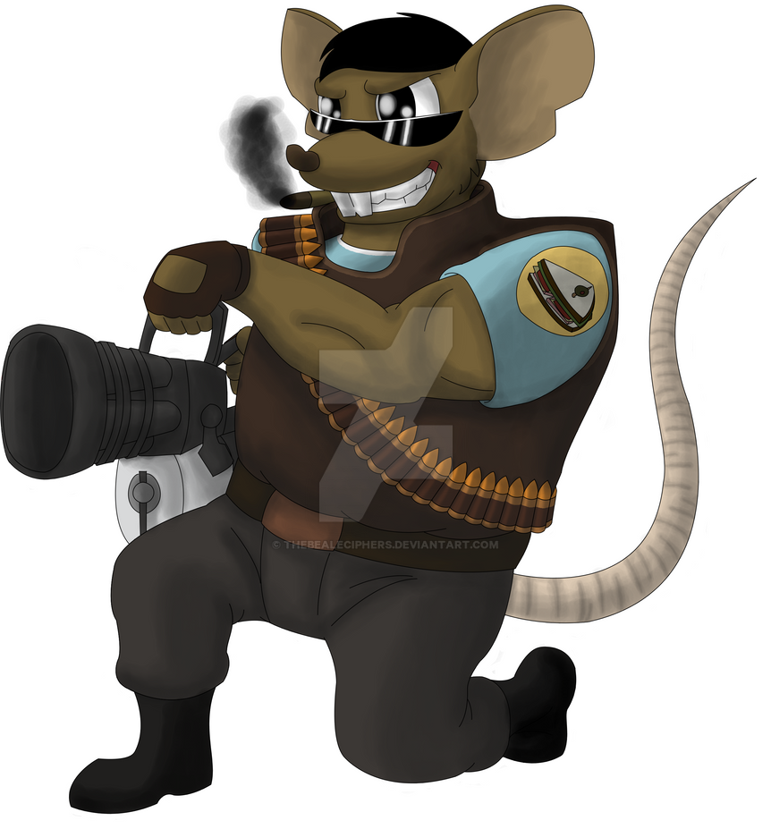 :: Ratty the Heavy :: by TheBealeCiphers