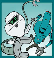 Robot Power:Jailbot and HELPeR by TheBealeCiphers