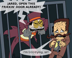 :Superjail: A Little Dilemma: by TheBealeCiphers
