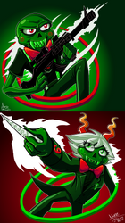 :: Homestuck: Cherub Twins :: by TheBealeCiphers