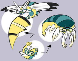 Mega Dunsparce by TheBealeCiphers