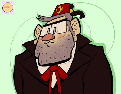 Emoji Challenge: Stanley Pines by TheBealeCiphers