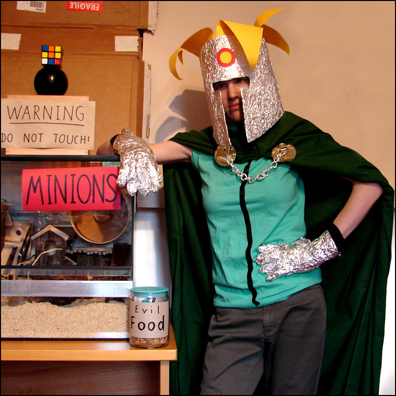 Prof. Chaos South Park costume by Zwerg-im-Bikini