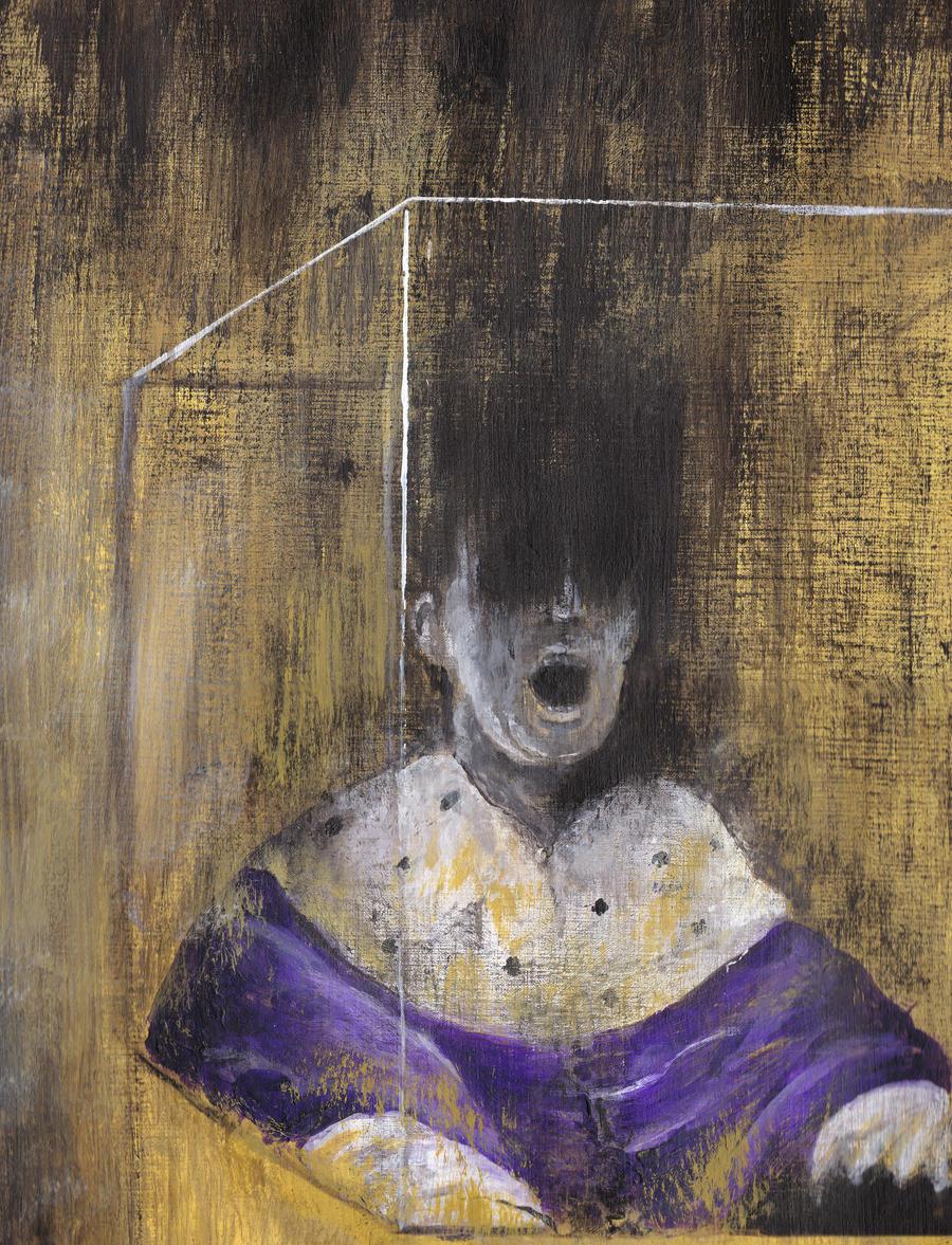 Moriarty, Francis Bacon style [#letsdrawsherlock] by Zwerg ... Francis Bacon Artist Screaming Pope