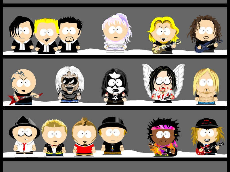 my own south park characters 4 by zwergimbikini on