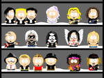 My own South Park characters 4