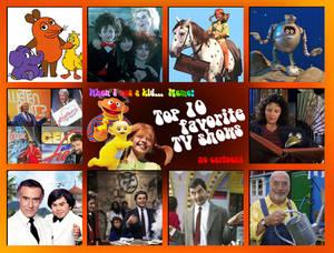 Top10 favorite tv shows - kid meme