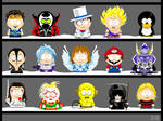 My own South Park characters 6