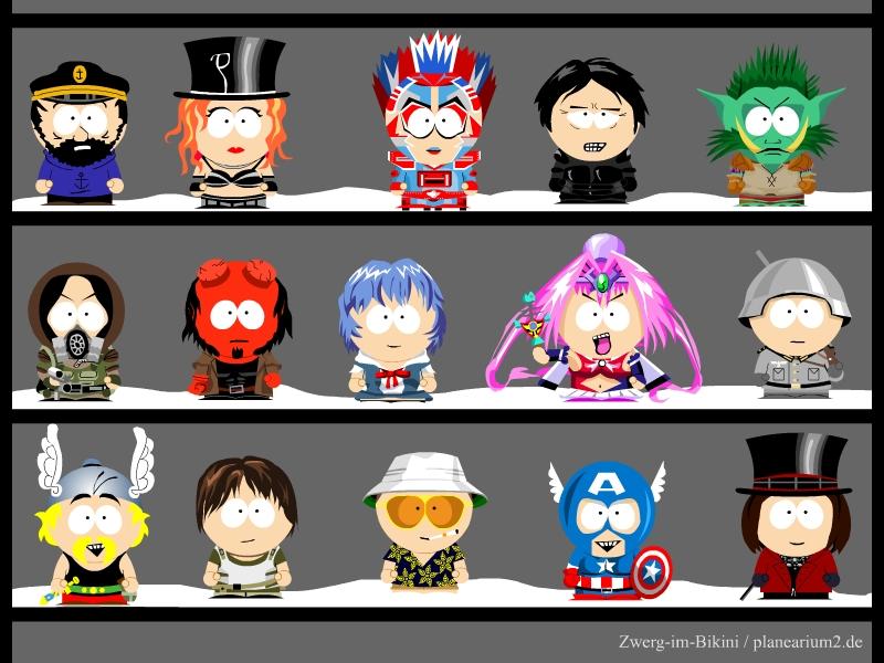 My own South Park characters 7 by Zwerg-im-Bikini on DeviantArt