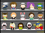 My own South Park characters 8
