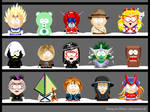 My own South Park characters 9