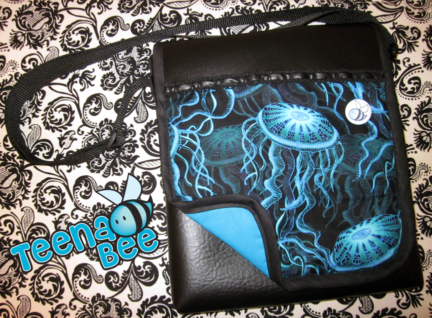 Vinyl Jelly Bee Bag by Teena-Bee
