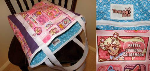Pink Sailor Moon Bag by Teena-Bee