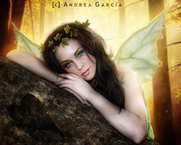 Autumn Fairy by AndyGarcia666