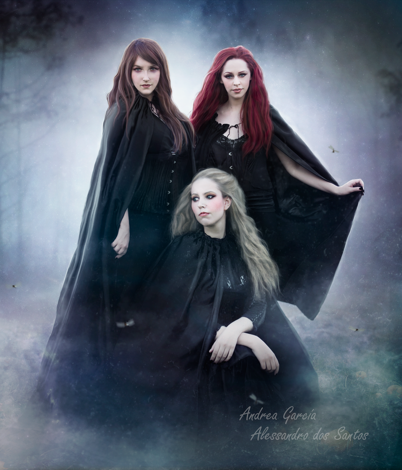Witches By AndyGarcia666 On DeviantArt